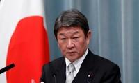 Le ministre japonais des Affaires étrangères commence sa tournée au Moyen-Orient