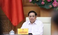Pham Minh Chinh, chef de la Direction nationale anti-Covid-19