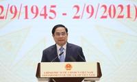 Pham Minh Chinh participera au Sommet mondial du commerce des services