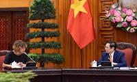 Pham Minh Chinh rencontre l'ambassadrice des Pays-Bas