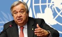 Le chef de l'ONU appelle à réagir sur le climat et la Covid