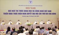 Conférence: Les scientifiques vietnamiens appliquent la Résolution du 13e Congrès national du Parti