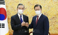 Moon Jae-in demande à Pékin de soutenir le processus de paix dans la péninsule coréenne