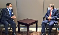 Rencontres de Bùi Thanh Son en marge de la 76e assemblée générale de l'ONU