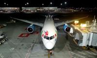 Bamboo Airways effectue son premier vol direct vers les États-Unis