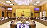 Vuong Đinh Huê préside une réunion avec le Conseil d'affaires ASEAN - États-Unis