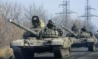 Ополченцы на Украине отвели большинство тяжелых вооружений