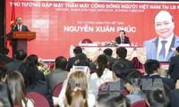 Нгуен Суан Фук встретился с представителями вьетнамской диаспоры в РФ