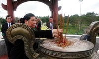 Тонг Тхи Фонг выразила благодарность павшим солдатам