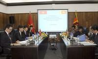Politische Konsultation zwischen Vietnam und Sri Lanka