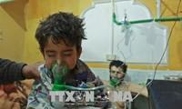 Россия: Гибель мирных сирийских жителей от химического оружия была инсценирована