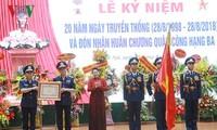 Нгуен Тхи Ким Нган приняла участие в церемонии празднования 20-летия Дня создания ВМП