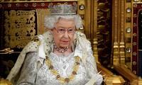 Елизавета II выступила с речью в парламенте