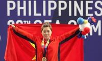 Выступление вьетнамских спортсменов в 3-й день соревнований на 30-х играх ЮВА