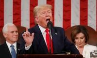 Президент США Дональд Трамп выступил с федеральным посланием