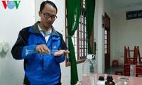 Об учителе Во Фыок Хунге, который успешно производит дезинфицирующее средство - антибактериальный гель для рук для профилактики коронавируса