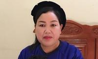 Заслуженная артистка Ха Май Вен – «жаворонок» пения Шли провинции Лангшон
