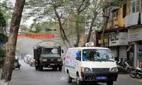 Утром 25 февраля во Вьетнаме не выявлено новых случаев заражения коронавирусом
