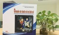 Запуск бумажной вьетнамской версии книги «Историческая космическая экспедиция»