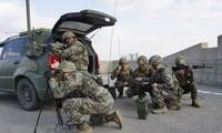 미국, 한반도 군사훈련 중단 중지 발표