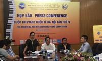 하노이 국제 피아노 콩쿠르에 참가한 9 개 국가 및 지역