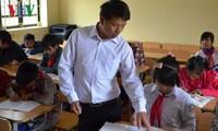 열정적 삶을 사는 옌바이 고원지역의 판 반 탕교사