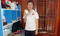 베트남 타이족 펜칵실랏의 여제, '금의환향'