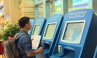 베트남 항공사, 많은 외국 공항에서 셀프 체크인 서비스 시작