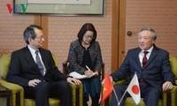 Chánh án Tòa án Nhân dân Tối cao thăm và làm việc tại Nhật Bản
