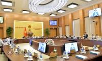 Ủy ban Thường vụ Quốc hội tiếp tục cho ý kiến về các dự thảo, dự án Luật