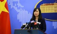 Việt Nam phản đối Trung Quốc tập trận ở khu vực quần đảo Hoàng Sa