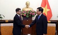 Phó Thủ tướng, Bộ trưởng Bộ Ngoại giao Phạm Bình Minh tiếp Đại sứ Ấn Độ tại Việt Nam