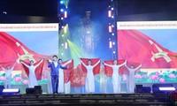 Chương trình nghệ thuật chào mừng thành công của Đại hội đại biểu toàn quốc MTTQ Việt Nam lần thứ 9