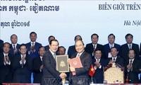 Việt Nam - Campuchia tổng kết công tác cắm mốc biên giới