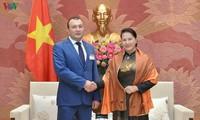Chủ tịch Quốc hội Nguyễn Thị Kim Ngân tiếp Phó Chủ tịch Quốc hội Armenia