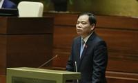 Quốc hội bắt đầu chương trình chất vấn