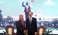 Lãnh đạo Thành phố Hồ Chí Minh tiếp Đặc phái viên Chính phủ Hoàng gia Campuchia