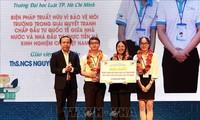 Trao giải thưởng Sinh viên nghiên cứu khoa học Euréka