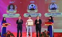 """Trao giải Cuộc thi """"Tuổi trẻ học tập và làm theo tư tưởng, đạo đức, phong cách Hồ Chí Minh"""" năm 2019"""