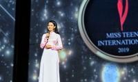 Thí sinh Việt Nam đạt danh hiệu Hoa hậu tuổi teen châu Á - Miss teen International 2019