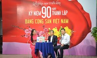 Khai mạc Tuần lễ hoạt động kỷ niệm 90 năm thành lập Đảng Cộng sản Việt Nam