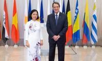 Việt Nam luôn coi trọng quan hệ nhiều mặt với Cộng hòa Cyprus
