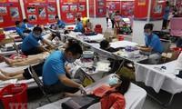 Tuổi trẻ Thành phố Hồ Chí Minh hăng hái hiến máu tình nguyện