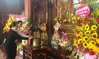Quảng Ngãi: Dâng hương tưởng niệm 114 năm Ngày sinh cố Thủ tướng Phạm Văn Đồng