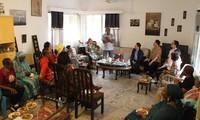 Đại sứ quán gặp gỡ đại diện cộng đồng người Senegal gốc Việt và hội Vovinam Việt võ đạo tại Senegal