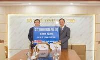 Doanh nghiệp tặng khẩu trang, đồng hành cùng cộng đồng chống dịch COVID-19