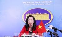 Việt Nam phản đối các hành động của Trung Quốc tại quần đảo Trường Sa và Hoàng Sa