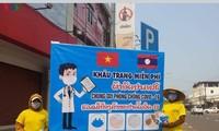 Cộng đồng người Việt tại Lào chung tay chống dịch