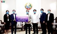 Lào đánh giá cao Việt Nam hỗ trợ phòng chống dịch Covid-19