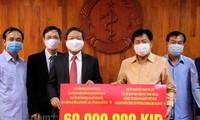 Việt Nam hỗ trợ Lào phòng chống dịch bệnh COVID-19